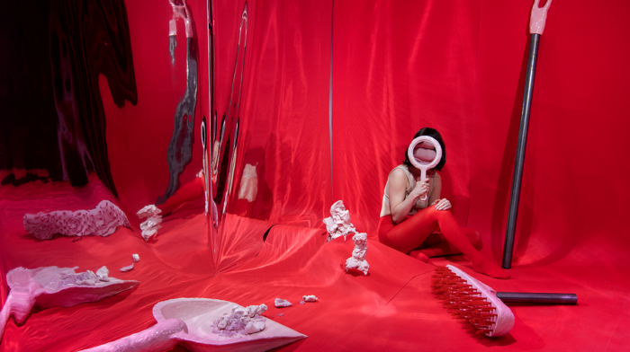 Fanny Ollas Mental Landscapes Behind The Red Curtain 2018